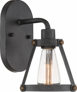 Designers Fountain D212M-1B-WP Wicker Park Weathered Pewter Wall Lighting Sconce