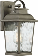 Designers Fountain D220M-7OW-WI Brinley Weathered Iron Exterior 14  Wall Light Sconce