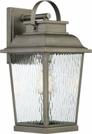 Designers Fountain D220M-9OW-WI Brinley Weathered Iron Exterior 17 Wall Sconce Light
