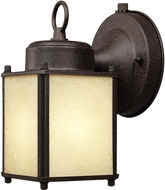 Designers Fountain ES1161-RP Basic Porch Rust Patina Fluorescent Exterior Wall Sconce Lighting