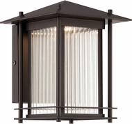 Designers Fountain LED32521-BNB Hadley Burnished Bronze LED Outdoor 7 Wall Sconce Light