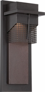 Designers Fountain LED32611-BNB Beacon Contemporary Burnished Bronze LED Exterior 6 Wall Lamp