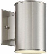 Designers Fountain LED33011-SP Barrow Contemporary Satin Platinum LED Outdoor Wall Lighting Sconce