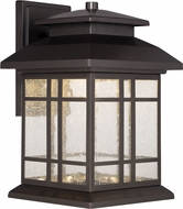 Designers Fountain LED33431-ORB Piedmont Oil Rubbed Bronze LED Exterior Wall Mounted Lamp