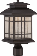 Designers Fountain LED33436-ORB Piedmont Oil Rubbed Bronze LED Outdoor Post Light Fixture