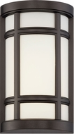 Designers Fountain LED33821-BNB Logan Square Burnished Bronze LED Outdoor Wall Lighting Fixture