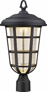 Designers Fountain LED33916-BK Triton Black LED Outdoor Post Lighting Fixture