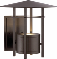 Designers Fountain LED34031-BNB Englewood Contemporary Burnished Bronze LED Outdoor Wall Sconce