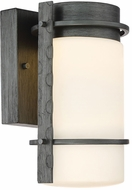 Designers Fountain LED34301-WI Aldridge Modern Weathered Iron LED Exterior Wall Sconce Lighting