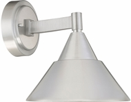 Designers Fountain LED34721-BA Freemont Contemporary Brushed Aluminum LED Outdoor Light Sconce