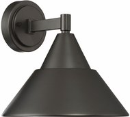 Designers Fountain LED34731-ORB Freemont Modern Oil Rubbed Bronze LED Exterior Wall Sconce Lighting