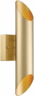 Designers Fountain LED6092-LXG Lucienne Contemporary Luxor Gold LED Outdoor Wall Light Fixture
