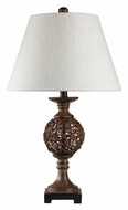Dimond 111-1085 Atmore 26 Inch Tall Transitional Style Table Top Lamp
