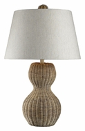 ELK Home 111-1088 Sycamore Hill 26 Inch Tall Light Rattan Lighting Table Lamp