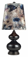 Dimond 111-1099 Silverdale Black Nickel Finish Table Lamp - 27 Inches Tall