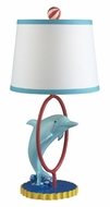 Dimond 112-1104 Davy 22 Inch Tall Jumping Dolphin Childrens Table Lighting