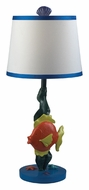 Dimond 112-1106 Billy Swimming Fish 23 Inch Tall Bedroom Table Lamp