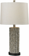 Dimond 112-1118 Bamboo Silver Leaf Table Light