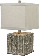 Dimond 112-1119 Bamboo Silver Leaf Table Lighting