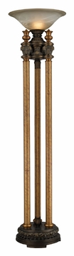 ELK Home 113-1135 Athena 72 Inch Tall Traditional Bronze Torch Lamp