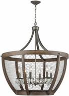 ELK Home 1140-033 Renaissance Invention Weathered Zinc Chandelier Light