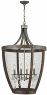 ELK Home 1140-034 Renaissance Invention Weathered Zinc Mini Chandelier Lighting