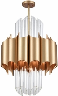 ELK Home 1140-062 Cold Rolled Modern Matte Gold Pendant Lighting