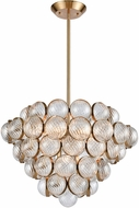 Dimond 1140-065 Sphaira Contemporary Satin Brass Pendant Light