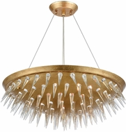 Dimond 1140-069 Sting Gold Leaf Pendant Lamp
