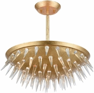 Dimond 1140-070 Sting Gold Leaf Hanging Lamp