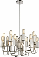ELK Home 1141-065 Symposium Contemporary Polished Nickel Chandelier Light