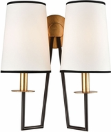 ELK Home 1141-077 On Strand Contemporary Oiled Bronze With Gold Leaf Wall Sconce