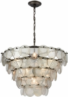 ELK Home 1141-084 Airesse Modern Brushed Slate With Mercury Glass Hanging Pendant Lighting