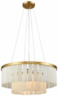 ELK Home 1142-013 Orchestra Modern Gold Leaf Drum Pendant Lamp