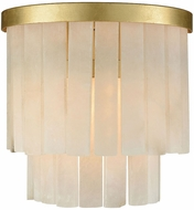 ELK Home 1142-014 Orchestra Contemporary Gold Leaf Wall Lamp