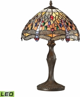 Dimond 72078-1-LED Dragonfly Tiffany Dark Bronze LED Lighting Table Lamp