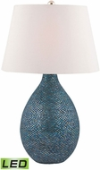 Dimond 8983-030-LED Syren Blue Mosaic LED Table Lamp