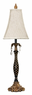 Dimond 91-193 Black With Polka Dots 31 Inch Tall Antique Table Light - Gold Leaf