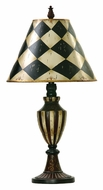 Dimond 91-342 Harlequin And Stripe Urn 29 Inch Tall Table Top Lamp