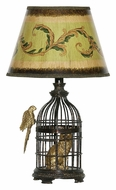 Dimond 91-620 Trading Places 18 Inch Tall Table Lamp Lighting - Bronze Finish