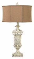 Dimond 93-029 Morgan Hill 30 Inch Tall Living Room Table Lamp - Distressed White