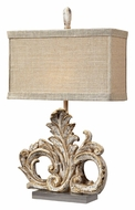 ELK Home 93-10030 Springfield Ornate 26 Inch Tall Traditional Table Lamp - Presidente