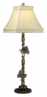 Dimond 93-9107 Wolcott Lake 36 Inch Tall Butterfly Table Lamp - Antiqued Silver Leaf