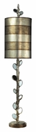 Dimond 93-9111 Amherst Antiqued Silver Leaf 45 Inch Tall Living Room Table Lamp