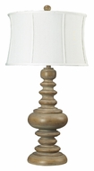 Dimond 93-9244 Moniac 36 Inch Tall Transitional Wooden Table Lamp Lighting