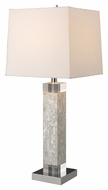Dimond D1412 Luzerne Mother Of Pearl Finish 13 Wide Lighting Table Lamp