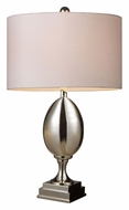 Dimond D1426W Waverly Chrome Plated Modern 28 Inch Tall Table Lighting