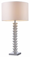 Dimond D1483 Modena Modern Clear Crystal Finish 30 Tall Table Lamp Lighting