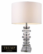 Dimond D1512 Madison Modern Clear Crystal Finish 23 Tall Lighting Table Lamp