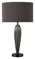 Dimond D1597 Carmichael 25 Inch Tall Steel Smoked & Black Nickel Table Lamp